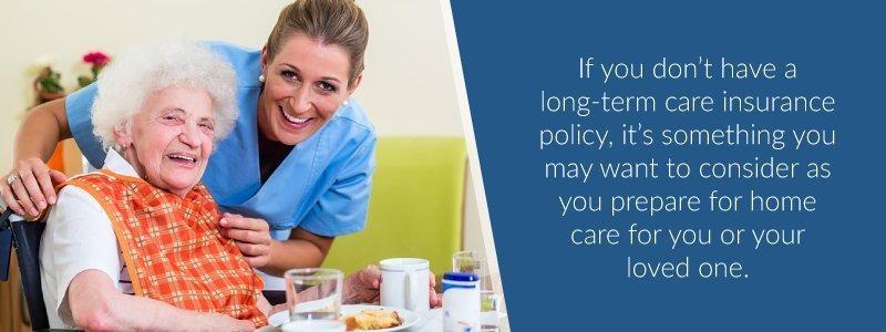 long-term care insurance prepare for