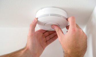 install a working smoke detector