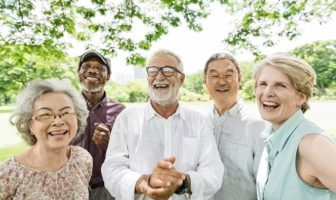 Laughing Senior Adults