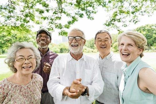 Laughing Senior Adults